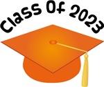 2023 School Class Graduation (Orange)
