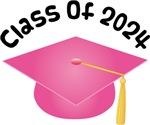 2024 School Class Graduation (Pink)
