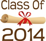 2014 School Class Diploma Design Gifts
