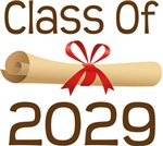 2029 School Class Diploma Design Gifts