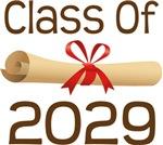 2029 School Class Diploma Design Gifts