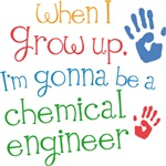Future Chemical Engineer Kids T-shirts