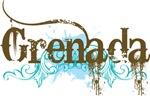Grenada Grunge T-shirts and Hoodies