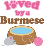 Loved By A Burmese Cat Gifts