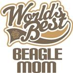 World's Best Beagle Mom T-shirts