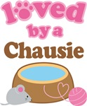Loved By A Chausie Tshirt Gifts