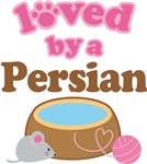 Loved By A Persian Tshirt Gifts