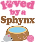 Loved By A Sphynx Tshirt Gifts