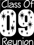Class Of 2009 Reunion Tee Shirts