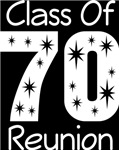 Class Of 1970 Reunion Tee Shirts