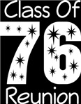 Class Of 1976 Reunion Tee Shirts