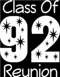 Class Of 1992 Reunion Tee Shirts