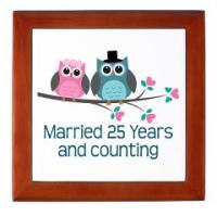 CUTE OWL WEDDING ANNIVERSARY GIFTS