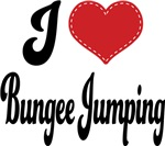 I Heart Bungee Jumping T-shirts and Gifts