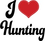 I Heart Hunting T-shirts and Gifts