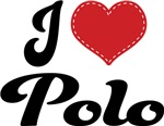 I Heart Polo T-shirts and Gifts