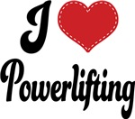 I Heart Powerlifting T-shirts and Gifts