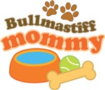 Bullmastiff Mommy T-shirts and Gifts