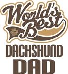 Dachshund Dad (Worlds Best) T-shirts