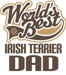 Irish Terrier Dad (Worlds Best) T-shirts