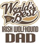 Irish Wolfhound Dad (Worlds Best) T-shirts