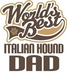 Italian Hound Dad (Worlds Best) T-shirts