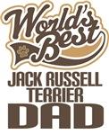 Jack Russel Terrier Dad (Worlds Best) T-shirts
