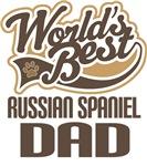 Russian Spaniel Dad (Worlds Best) T-shirts