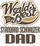 Standard Schnauzer Dad (Worlds Best) T-shirts