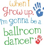 Future Ballroom Dancer Kids T-shirts