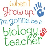 Future Biology Teacher Kids T-shirts
