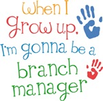 Future Branch Manager Kids T-shirts