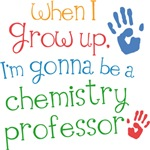 Future Chemistry Professor Kids T-shirts