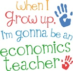 Future Economics Teacher Kids T-shirts
