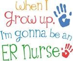Future ER Nurse Kids T-shirts