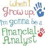 Future Financial Analyst Kids T-shirts