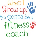 Future Fitness Coach Kids T-shirts