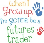 Future Futures Trader Kids T-shirts