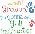 Future Golf Instructor Kids T-shirts