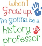 Future History Professor Kids T-shirts