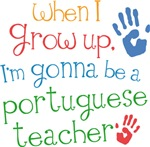 Future Portuguese Teacher Kids T-shirts