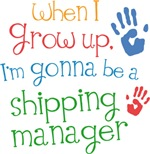 Future Shipping Manager Kids T-shirts