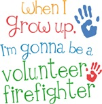 Future Volunteer Firefighter Kids T-shirts