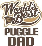Puggle Dad (Worlds Best) T-shir