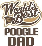 Poogle Dad (Worlds Best) T-shir