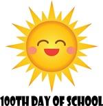 100th Day Of School sun tee shirts
