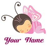 Personalized Butterfly Baby T-shirts and Gifts