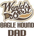 Bagle Hound Dad (Worlds Best) T-shirts