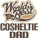 Cosheltie Dad (Worlds Best) T-shirts