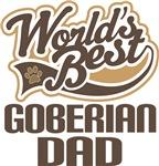 Goberian Dad (Worlds Best) T-shirts